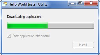 The installation utility